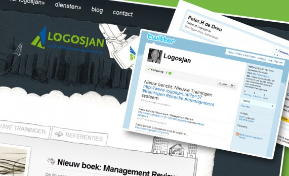 Website en social media Logosjan